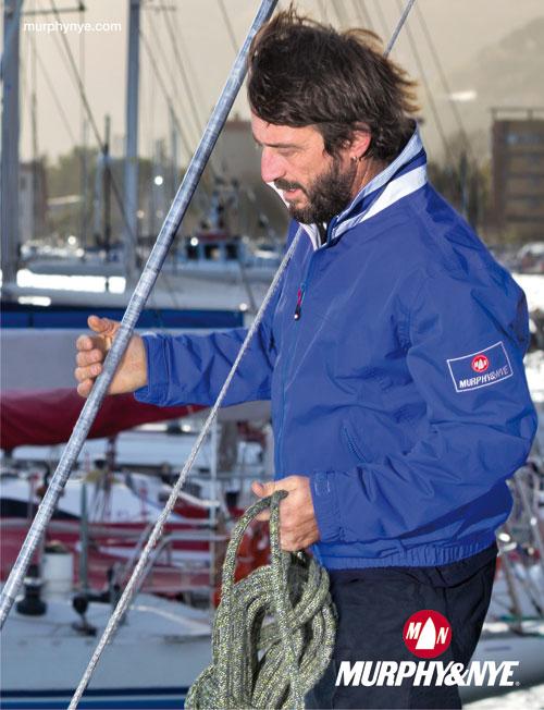 Giovanni Soldini con la Kitel Jacket  di MURPHY&NYE
