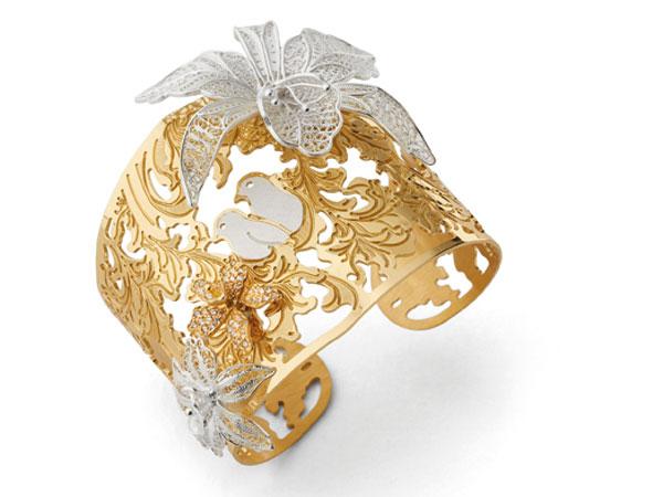 Le creazioni in argento placcato oro di MISIS