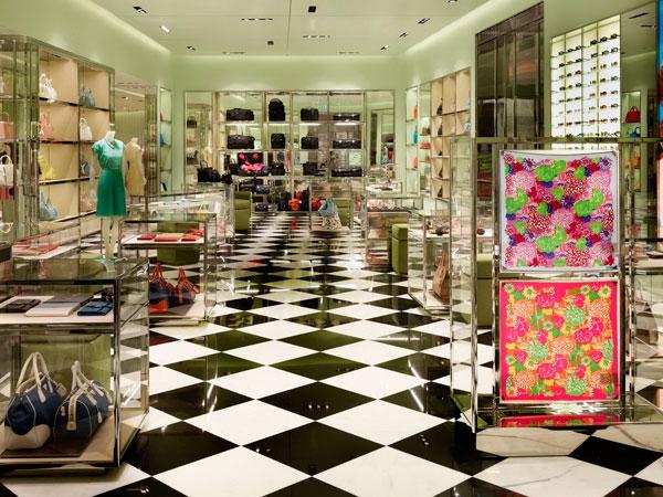 """Prada ha aperto nello spettacole """"Marocco Mall"""""""