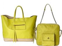 borse giallo lime di Elena Ghisellini