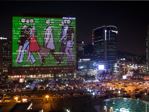 Calvin Klein protagonista a Seul