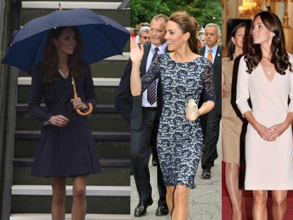 Le gambe sexy e tornite di Kate Middleton