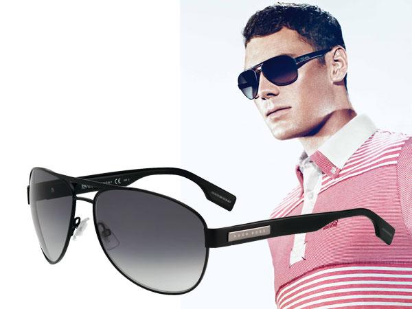 Martin Kaymer e i nuovi occhiali da sole BOSS Black