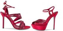Sergio Rossi: i sandali rossi