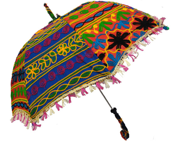 Gazèl, parasole ricamato