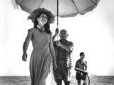 Picasso protegge dal sole Francoise Gilot