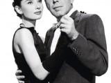 Audrey Hepburn e Humphrey Bogart