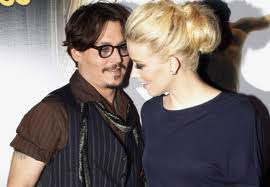 Amber Heard e Johnny Depp