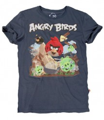 Le T-shirt con Angry Birds