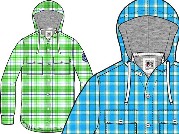 THINK PINK Big Sur Shirt