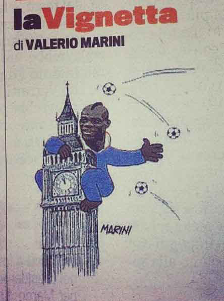 Mario Balotelli - è land art