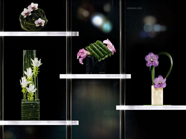 I fiori di Armani