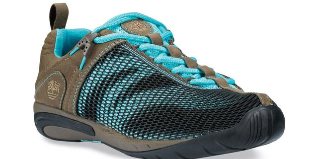 Timberland ha realizzato la nuova sneaker Earthkeepers BareStep Trail Oxford Mesh Upper