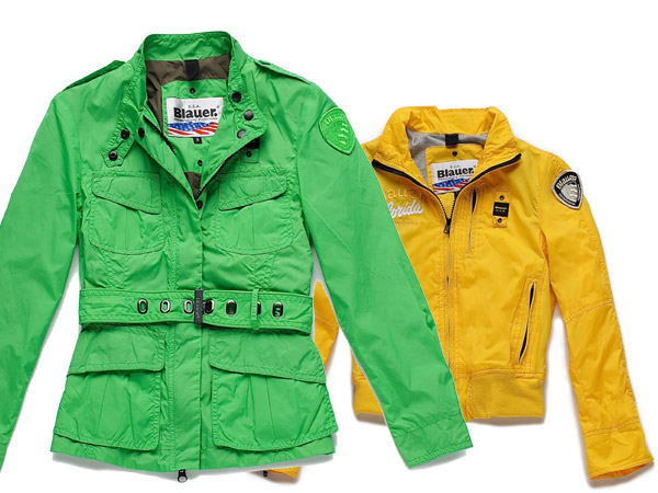 Giubbini color sorbetto per Blauer Junior SS12