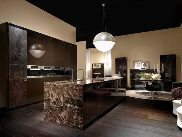 Con fendi la cucina entra nel salotto lusso ai massimi for Tm arredamenti villa lagarina