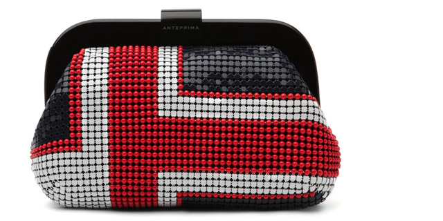 Clutch Anteprima british flag mini 530,00 euro