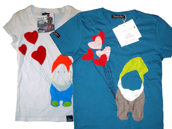 Love Therapy mini collezione eco t-shirt by Alessandro Acerra