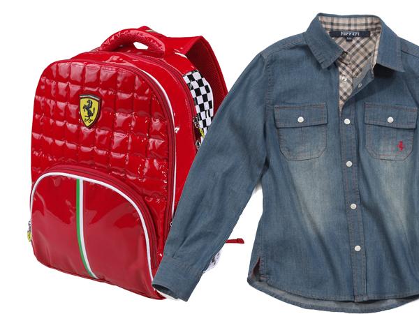 BACK TO SCHOOL FERRARI STORE 2012