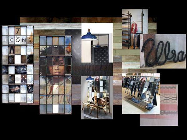 Wrangler - negozio di Lipsia, Germania.