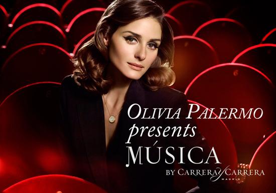 Olivia Palermo interpreta la nuova collezione Carrera Y Carrera