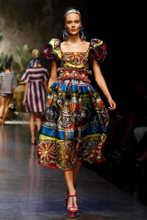 Dolce&Gabbana Sfilata Donna Milano PE 2013 06 , foto 1 ...