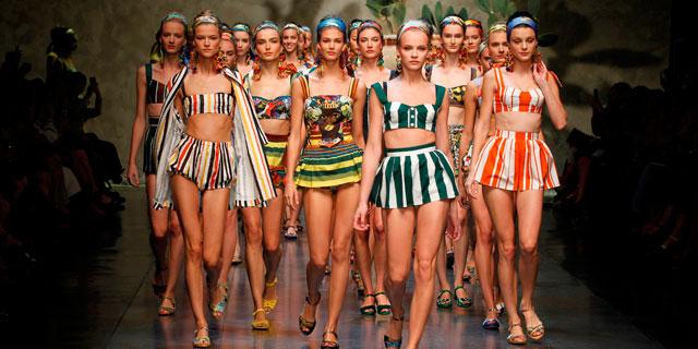 4e60670a6a Dolce & Gabbana, sfilata moda donna Milano Primavera-Estate 2013 ...