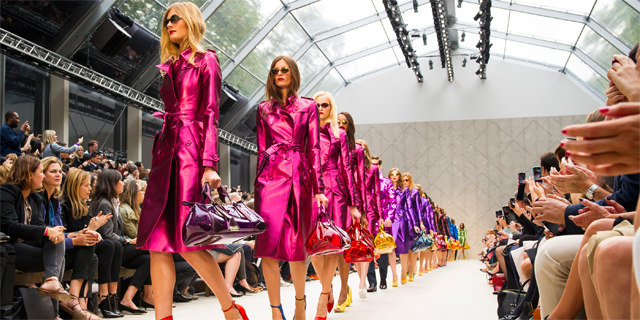 London Fashion Week 2012 - Sfilata Burberry - pe 2013