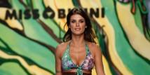 Elisabetta Canalis sfila per Miss Bikini Luxe, collezione primavera/estate 2013