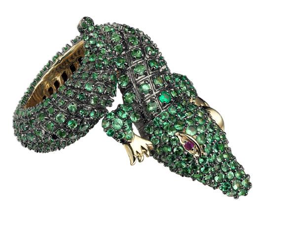 JOUBI-croc-green-tsavourite