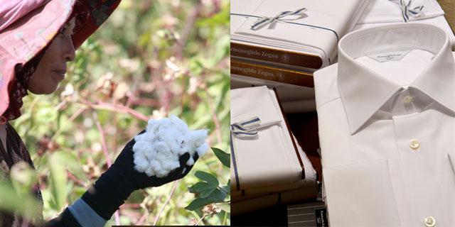 """Ermenegildo Zegna - """"Couture White Cotton"""""""