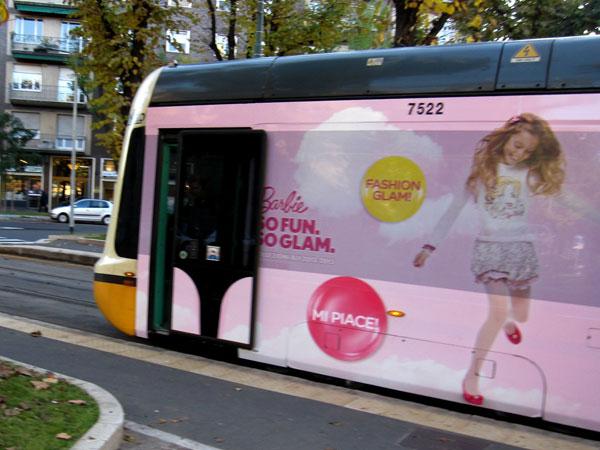 Tram Barbie a Milano
