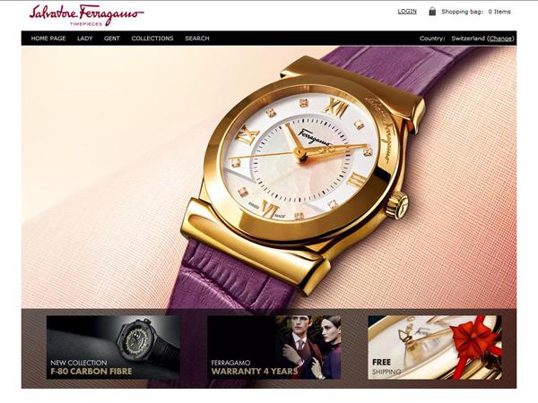 I  timepieces di Salvatore Ferragamo