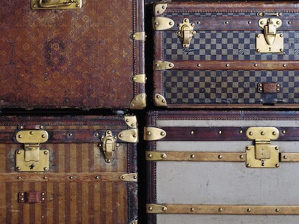 Mobili da viaggio per Louis Vuitton