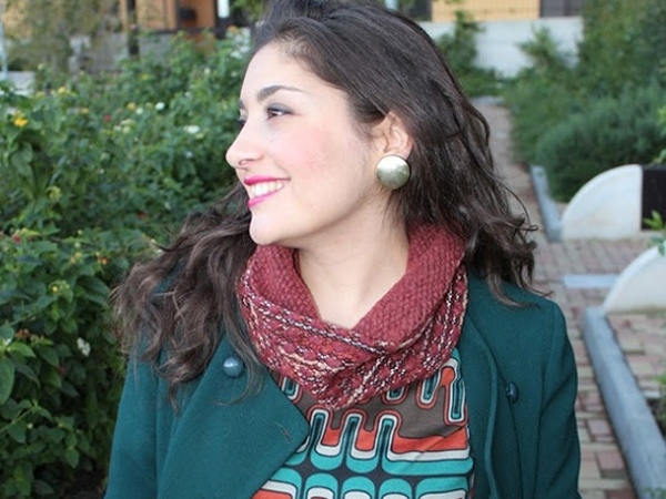 Raffaella, la fashion blogger di The Colours of My Closet.