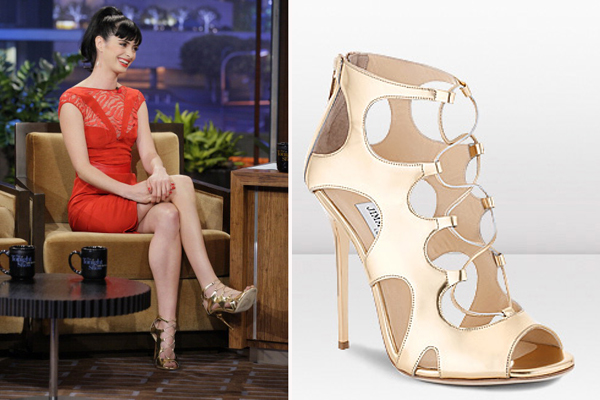 KRYSTEN RITTER WORE THE JIMMY CHOO DIFFUSE SANDAL