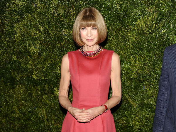 Anna Wintour veste Calvin Klein Collection