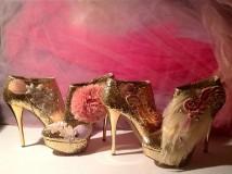 Le scarpe per le feste natalizie - Pamela Quinzi Design