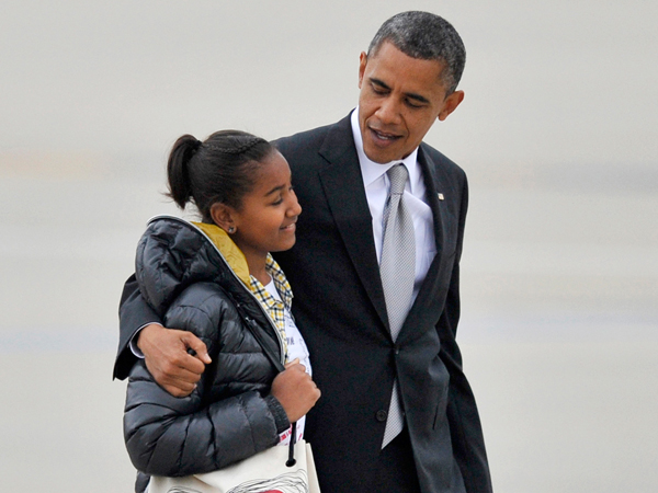 Sasha Obama, la secondogenita di Michelle e Barack Obama