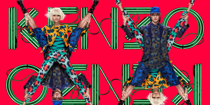 """X campaign"" by Kenzo"