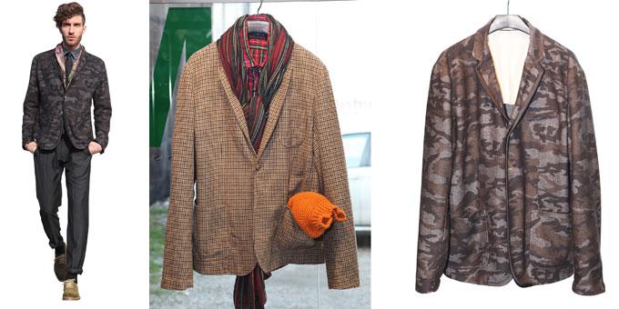 Massimo Rebecchi presenta la bohemien jacket della new generation