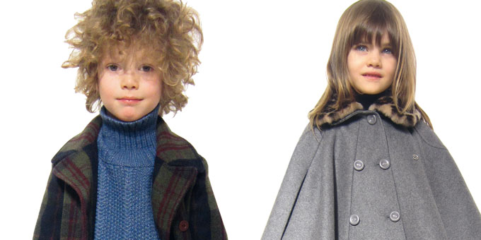 La collezione Gucci bambino per l'Autunno Inverno 2013-2014