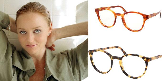 gli occhiali di Stella McCartney