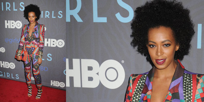 Just Cavalli per Solange Knowles a New York
