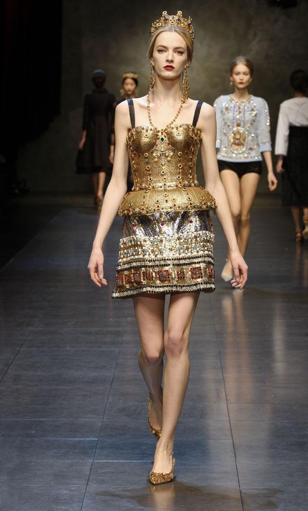 Dolce&Gabbana - f/w 2013/14