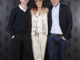 Dondup Evening - Asaf Avidan - Manuela Mariotti (direttrice creativa) - Massimo Berloni (presidente)
