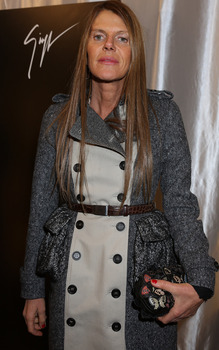 Anna Dello Russo attends the Vicini Presentation during Milan Fashion Week Womenswear FallWinter 201314 on February 23, 2013 in Milan, Italy