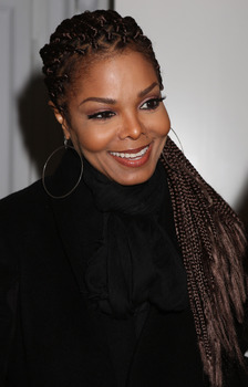Janet Jackson attends the Vicini Presentation during Milan Fashion Week Womenswear FallWinter 201314 on February 23, 2013 in Milan, Italy