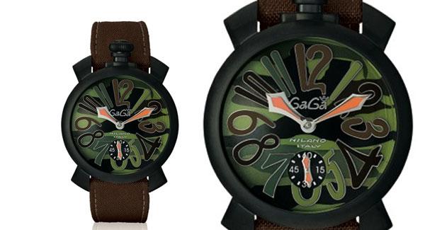 Orologio Gagà MIlano - Manuale 48mm 5012.5 Camouflage