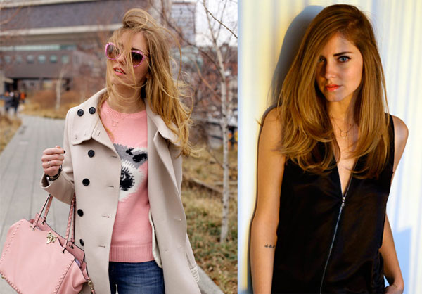 Chiara Ferragni alla New York Fashion Week