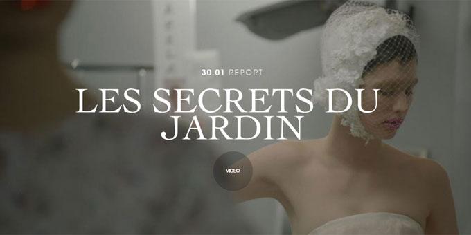 I giardini segreti di Christian Dior